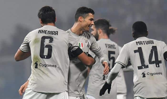 Cristiano Ronaldo Scores Record 20th Goal as Juventus Down Sassuolo 3-0 to Extend Lead in Serie A