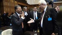 Namaste, MEA Joint Secretary Deepak Mittal Refuses to Shake Hands With Pak Official at ICJ