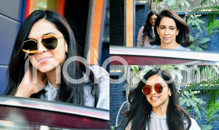 Deepika Padukone Spotted With Mother Ujjala Padukone ...