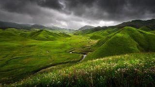 Dzukou Valley in The Northeast is a Fine Example of Raw, Untouched Natural Beauty