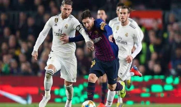 El Clasico Real Madrid vs Barcelona _picture credits-Twitter