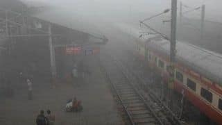Delhi: 11 Trains Running Late Due to Fog, Low Visibility