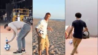 WATCH: Lionel Messi, Mohamed Salah or David Beckham? Netizens Can't Decide Who Performed Trick Challenge Better