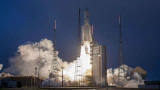 ISRO's GSAT-31 Launched by Ariane-5 VA-247 From French Guiana