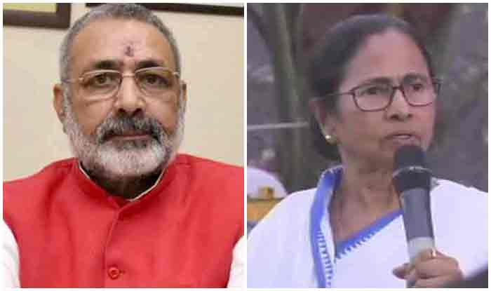 """भाजपा सांसद गिरिराज सिंह के बिगड़े बोल- ममता 'पूतना"""" हैं, वह झांसी की रानी नहीं बन सकती"""