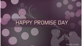 Happy Promise Day 2019: प्रॉमिस डे पर लवर्स से करें वादा, भेजें ये SMS, Whatsapp और Facebook Messages