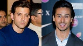 Tiger Shroff Says He's Like a Kid in a Candy Store When Shooting For Movie With Hrithik Roshan