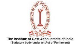 ICMAI CMA Foundation, Inter, Final Dec 2018 Results Declared at icmai.in