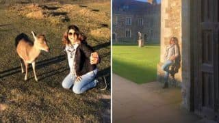 Television Hottie Jennifer Winget Looks Sexy as She Strikes a Pose in Her Latest Sun-kissed Pictures From Her London Vacation