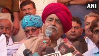 Gujjar Quota Agitation in Rajasthan Called Off; Kirori Singh Bainsla Says Decision Taken 'in Interest of Nation'