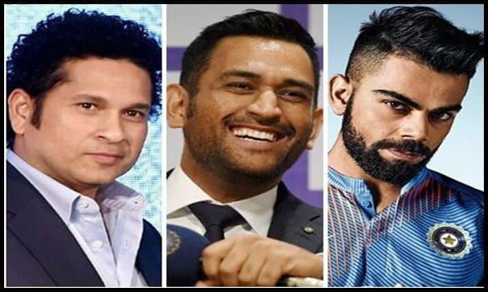 Kohli, Sachin and Dhoni-picture credits-twitter