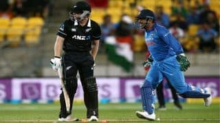 Never Leave Your Crease With MS Dhoni Behind The Stumps: ICC Issues Warning to Batsmen World Over After Jimmy Neesham Run-Out | SEE POST