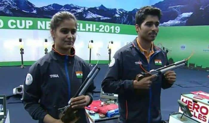 Manu Bhaker-Saurabh Chaudhary Break World Record to Clinch Mixed Team Event Gold at Asian Airgun Championship