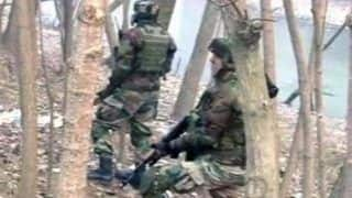 Encounter Underway Between Terrorists And Security Forces in J&K's Tral