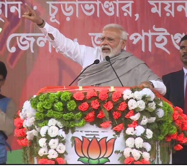 Mamata Didi Wants to be PM, Leaving Poor at Mercy of Alliance, Says PM at Jalpaiguri Rally