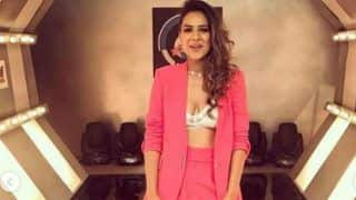 Nia Sharma Looks Hot AF in Golden Brief And Pink Pantsuit as She Takes Baby Steps Into a New Arena