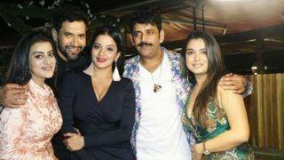 Bhojpuri Hotness Alert: Amrapali Dubey, Monalisa, Akshara Singh, Ravi Kishan Celebrate Nirahua's Birthday With a Grand Bash - See Pics