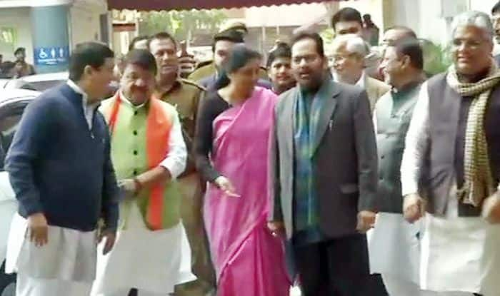 BJP Delegation Meets EC Over West Bengal Crisis, Seeks Deployment of Central Forces During Lok Sabha Elections