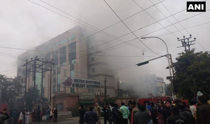 Metro Hospital Fire LIVE: Six Fire Tenders at Spot, Rescue Operation Underway; No Casualty so Far