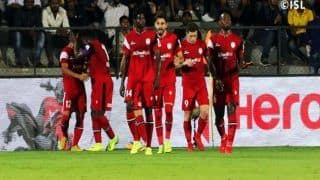 ISL 2018-19: Rowllin Borges, Bartholomew Ogbeche Score as NorthEast United FC Beat Mumbai City FC 2-0