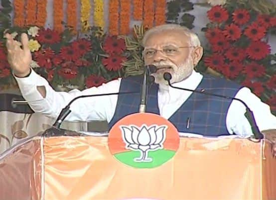 'Beware of Mahamilavat, Only Falsehood And Lies Run in Congress' Blood': PM Modi at Chhattisgarh Rally