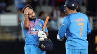 5th ODI: Bowling Coach Bharat Arun Defends Rishabh Pant, Says 'Unfair to Compare Young Wicketkeeper With MS Dhoni'