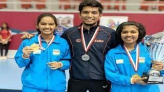 India Clinch Four Medals in Bahrain Junior And Cadet Open Table Tennis Tournament