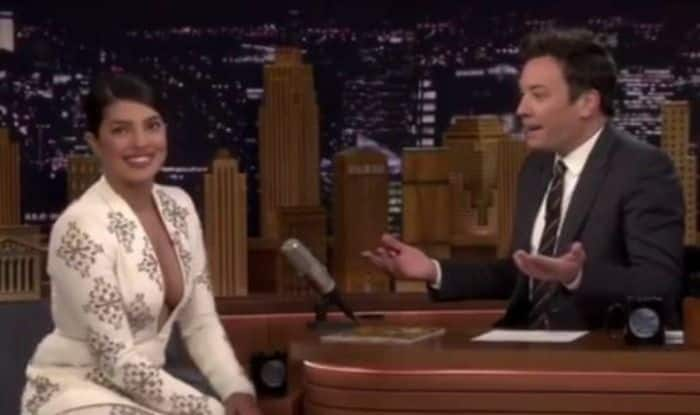 Priyanka Chopra and Jimmy Fallon