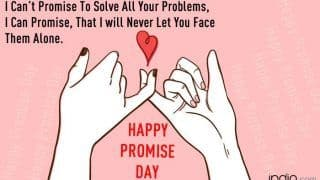 Happy Promise Day 2020: Top 10 Promises to Make For Each Other as a Gift This Valentine's Day