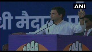 Jan Akanksha Rally: Rahul Gandhi Attacks PM Narendra Modi, Says Cash Transfer Scheme an Insult to Farmers
