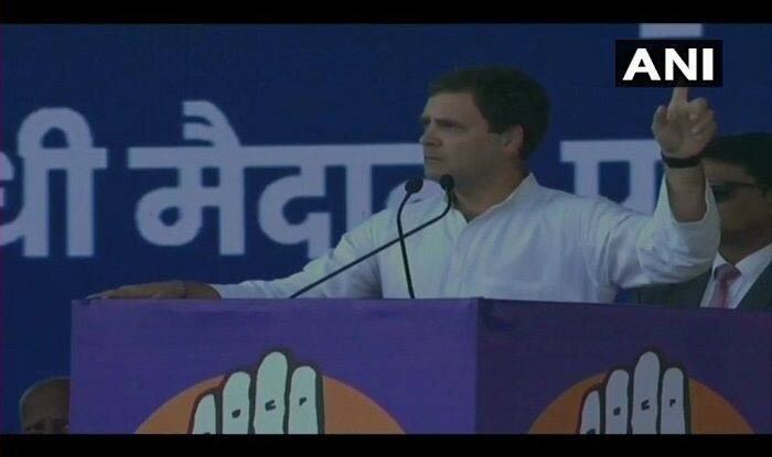Jan Akanksha Rally: Rahul Gandhi Attacks PM Narendra Modi, Says Cash Transfer Scheme an Insult to Farmers