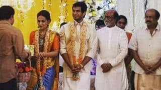 Rajinikanth Hosts Pre-Wedding Reception For Daughter Soundarya Ahead of Her Marriage to Vishagan Vanangamudi