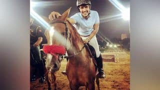Randeep Hooda is All Smiles as he Takes Home Silver Medal at National Equestrian Championship
