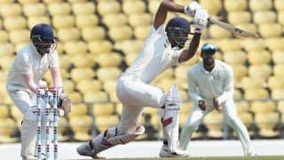 रणजी ट्रॉफी: दूसरे दिन तक सौराष्ट्र ने 5 विकेट खोकर बनाए 158 रन, पटेल का शानदार प्रदर्शन