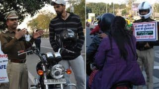 Delhi Traffic Police Applauded For Unique Way of Reminding Motorists About Road Safety