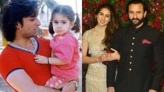 Throwback Picture of Saif Ali Khan With Daughter Sara Ali Khan Shows How Much She Has Evolved