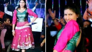 Haryanvi Sizzler Sapna Choudhary's Latest Item Number 'Marjani' Featuring Her Sexy Thumkas Released, Clocks Over 5 Lakh Views on YouTube - Watch