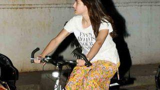 देर रात मुंबई की सड़कों पर साइकिलिंग करती नजर आईं बॉलीवुड की ये अभिनेत्री