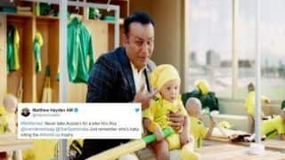 Australia Tour of India 2019: Matthew Hayden Hits Back At Virender Sehwag Over Babysitting Advertising Video | SEE POST