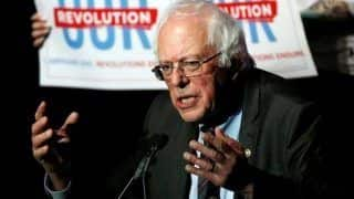 US Senator Bernie Sanders Announces Run For Presidency in 2020