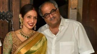 Boney Kapoor Set to Auction Sridevi's Saree Ahead of Her First Death Anniversary For Charitable Cause