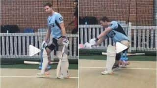Steve Smith Set For IPL 2019 Return? Former Australia Captain Shares Practice Video From Net Session, Good News For Fans Ahead of ICC World Cup 2019 | WATCH