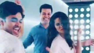 Sunny Leone Looks Hot AF as She Flaunts Her Sexy Dance Moves on Govinda's Popular Track 'Aa Jaana Aa Jaana' Along With Her Crew Members