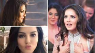 Sunny Leone, Baby Doll of Bollywood, Looks Sizzling Hot in Silver Short Dress as She Shares Sneak-peek While Shooting For Rangeela