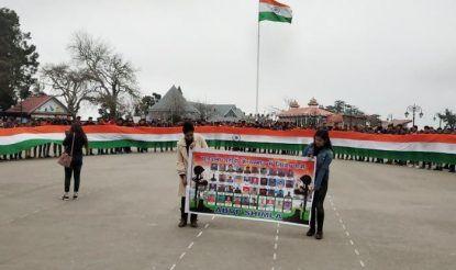 Pulwama Terror Attack: ABVP-led Students Take Out Tiranga Yatra in Shimla