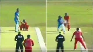 Yuvraj Singh Shines in India-Maldives Friendship Cricket Series, Enthralls Fans With Reverse Sweep Six | WATCH VIDEO
