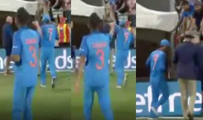 India vs New Zealand 2019: Yuzvendra Chahal Chases MS Dhoni For Special Interview on 'Chahal TV', Former Skipper Escapes Request | WATCH VIDEO