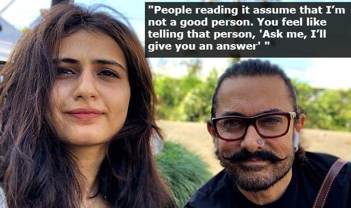 Fatima Sana Shaikh Speaks on Link-up Rumours With Aamir Khan, Says 'it Disturbs me'