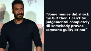 Ajay Devgn Talks About #MeToo Movement, Says 'Some Names Shocked me' But 'I Can't be Judgemental'