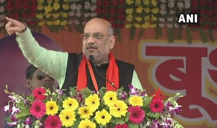 Lok Sabha Elections 2019: 'BJP Has Defeated These Opposition Parties on Their Home Turf in 2014,' Says Amit Shah in Jaunpur, Uttar Pradesh